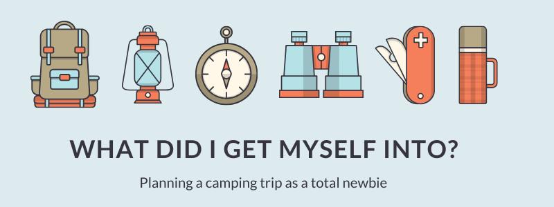 zero waste camping newbie